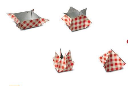 超创意的纸艺花瓶制作方法