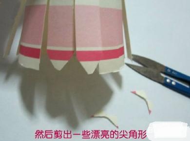 小学生灯笼的制作方法图解