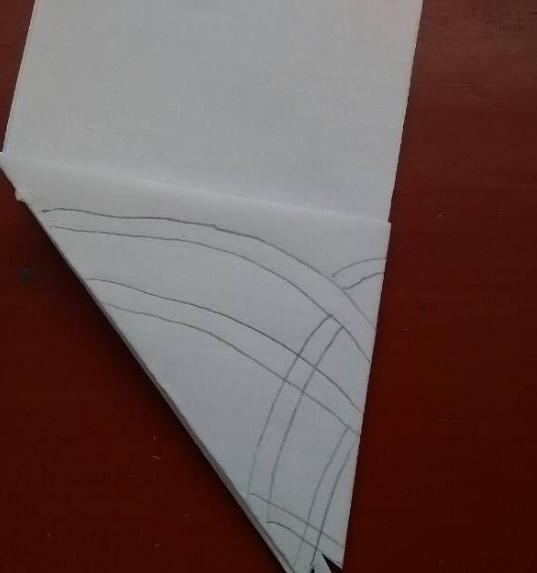 圆形团花剪纸图步骤