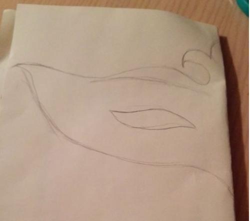 儿童纸面具制作方法