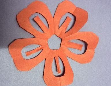 剪纸图案梅花简单步骤