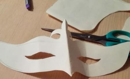 简单的面具制作方法