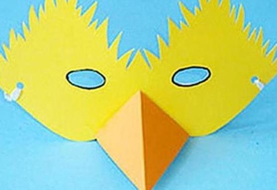 纸面具制作方法
