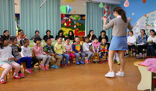 幼儿园折纸手工活动《娃娃头》教案